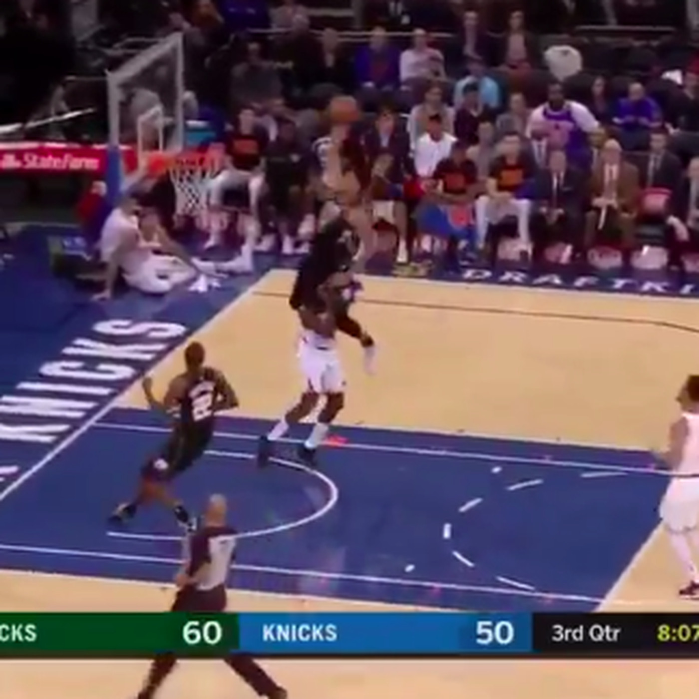 Giannis Antetokounmpo Dunked Cleanly Over Tim Hardaway Jr