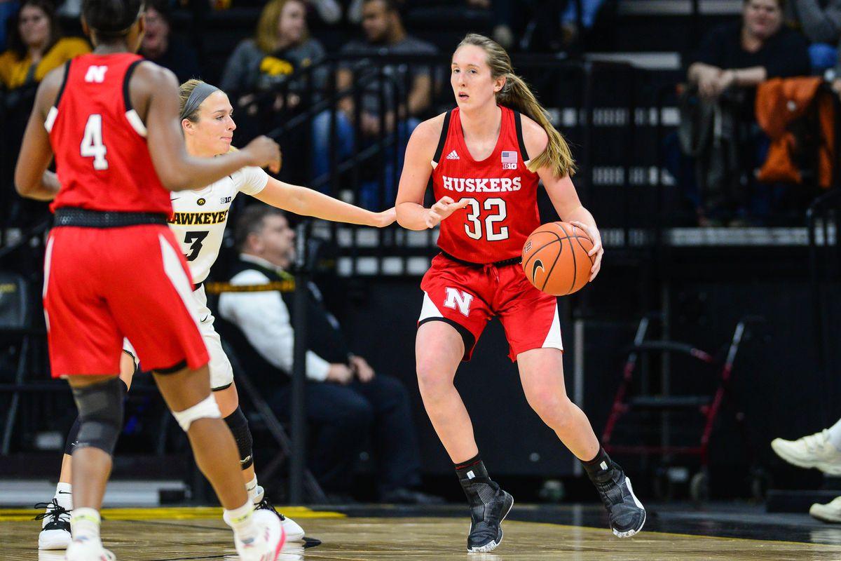 NCAA Womens Basketball: Nebraska at Iowa