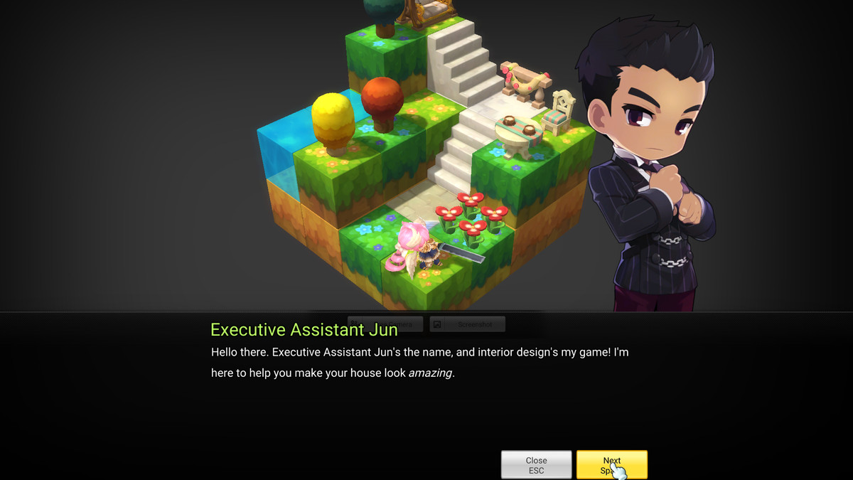 Executive Assistant Jun introduces you to your new house with just a touch  of luxury.