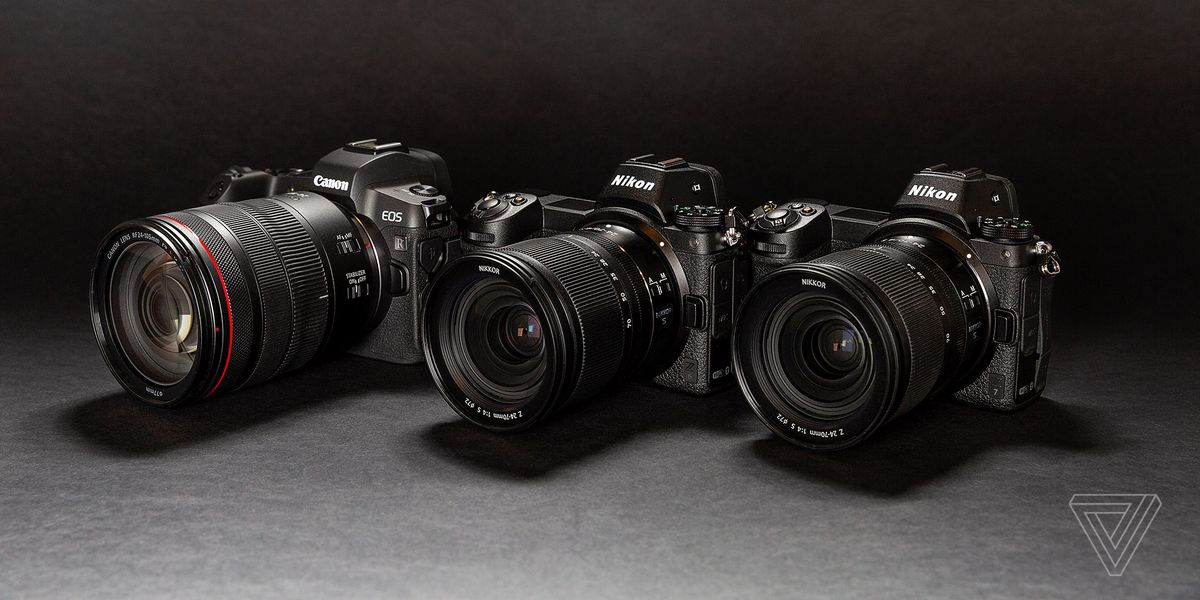 Canon EOS R and Nikon Z7 / Z6 review - The Verge