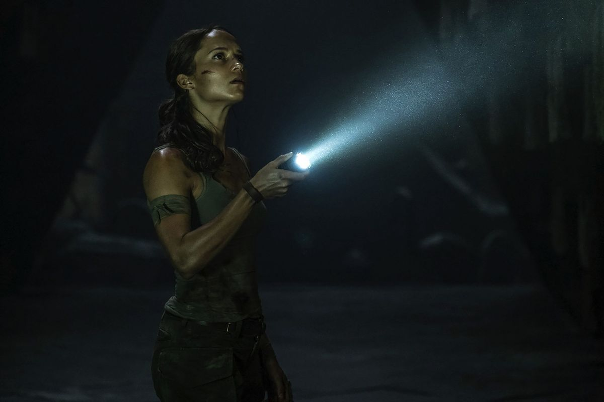 The 2018 Tomb Raider Movie Dials Down The Franchise S Tackiness