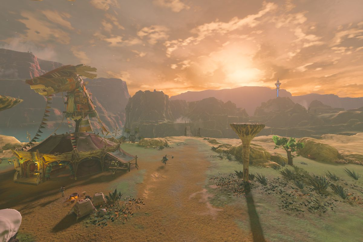 Zelda: Breath of the Wild mod lets you play entire game in first