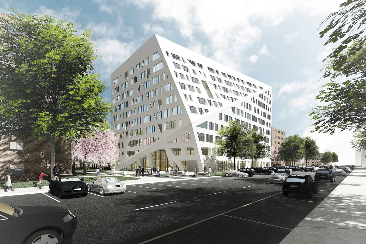 Studio libeskind s first nyc building will be affordable for Affordable building