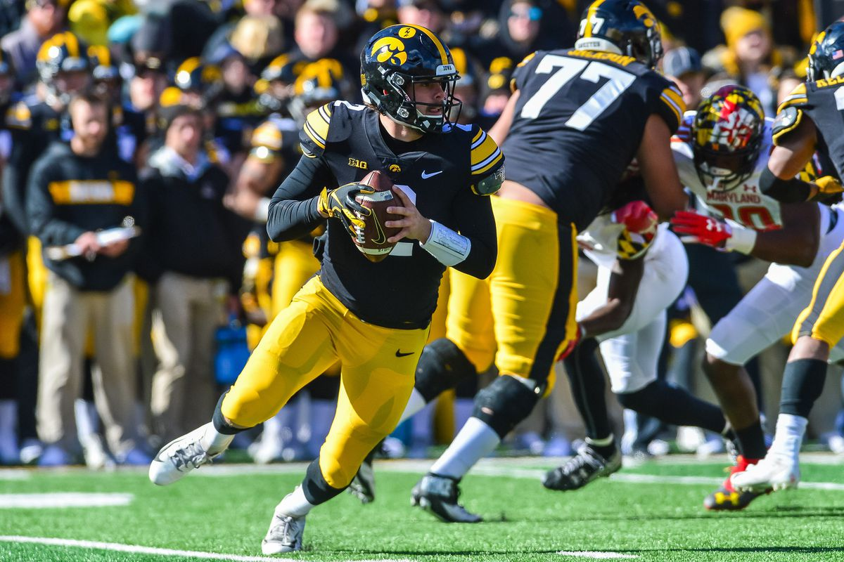 NCAA Football: Maryland at Iowa