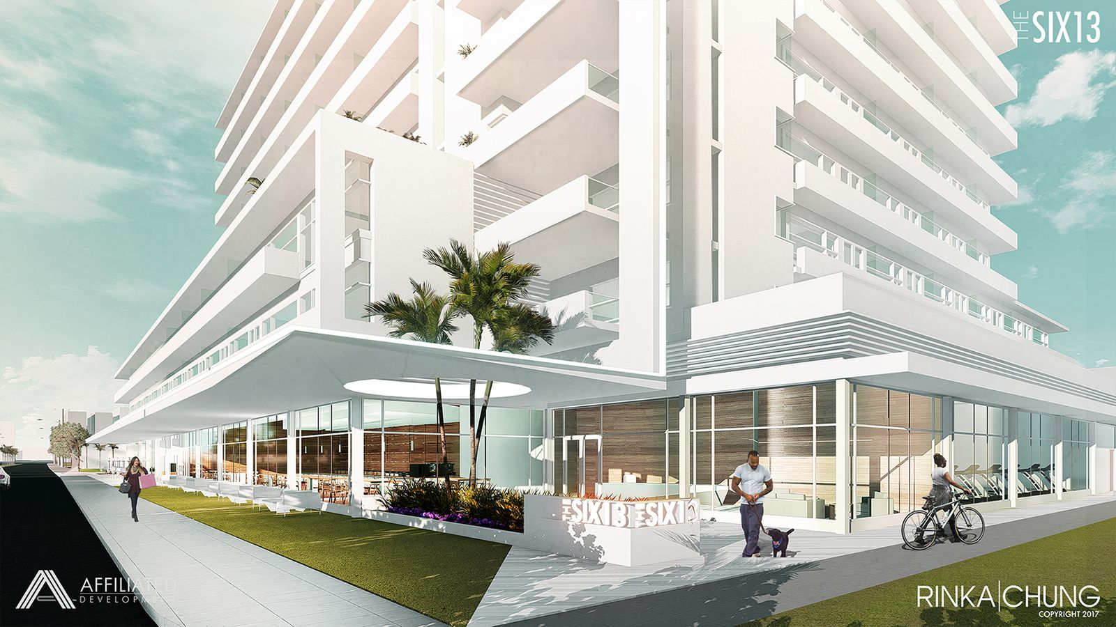 Fort lauderdale approves workforce rental development six13 curbed miami for 1 bedroom apartments ft lauderdale