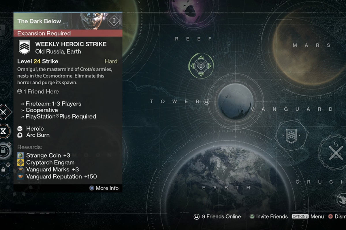 why are there no heroic strikes