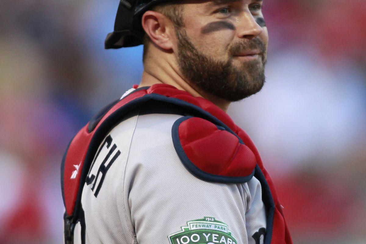 Catcher Kelly Shoppach has been acquired by the New York Mets from the Boston Red Sox. Tim Heitman-US PRESSWIRE