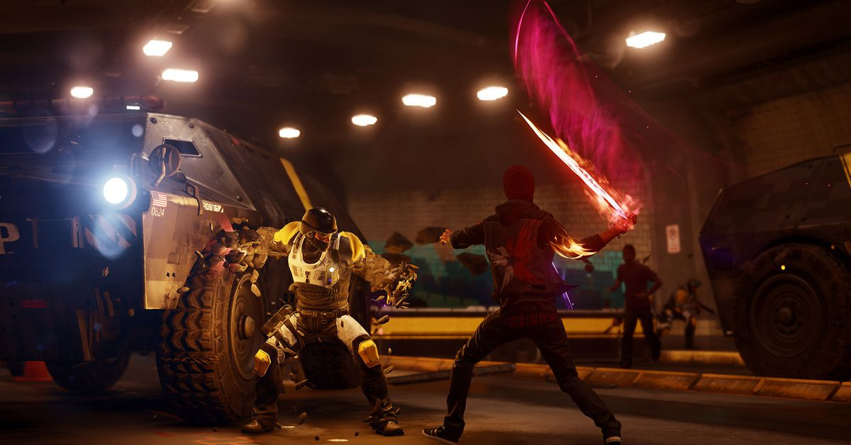 Infamous Second Son Puts Its Karmic Choices On Display But Still