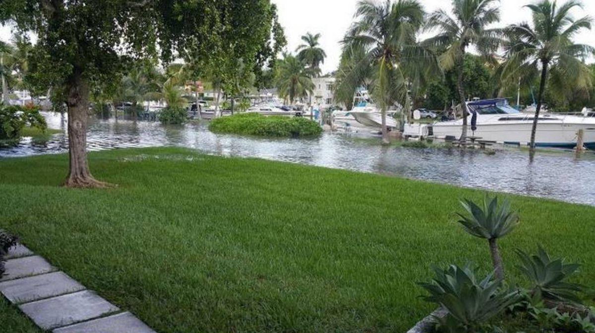 Flooding in Miami