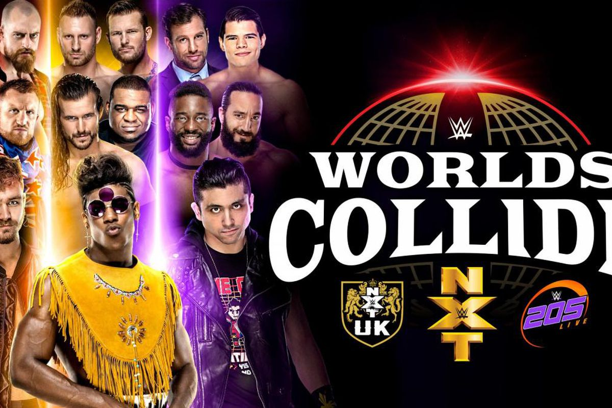 WWE Worlds Collide semi-finals & finals live results & open