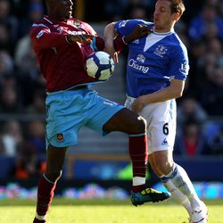 Jagielka missed a big part of the 2009-10 season with a knee injury