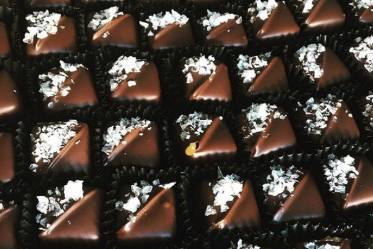Fleur de sel chocolates from Marigold Sweets