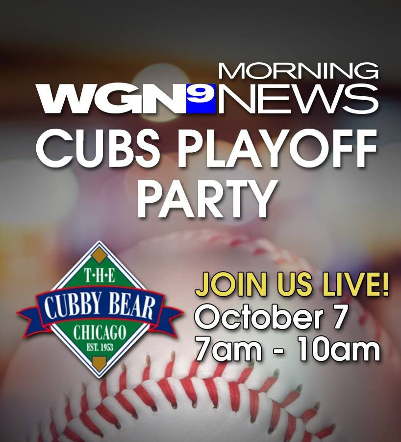 Cubs Playoff party @ The Cubby Bear
