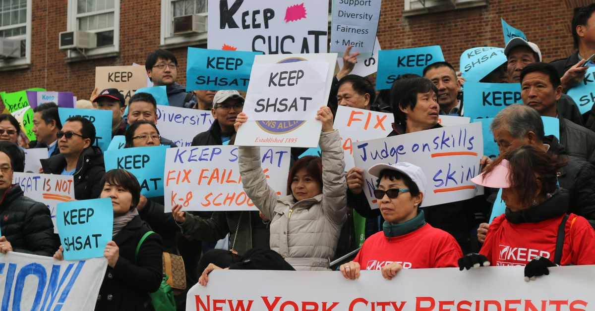 ny.chalkbeat.org: Opposition abounds against specialized high school admissions changes at Senate forum in Queens