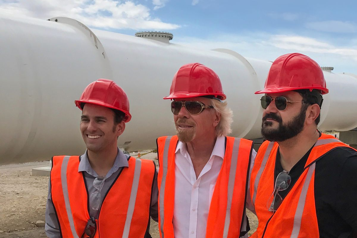 Virgin Hyperloop One sees billionaire Branson back Elon Musk's tech