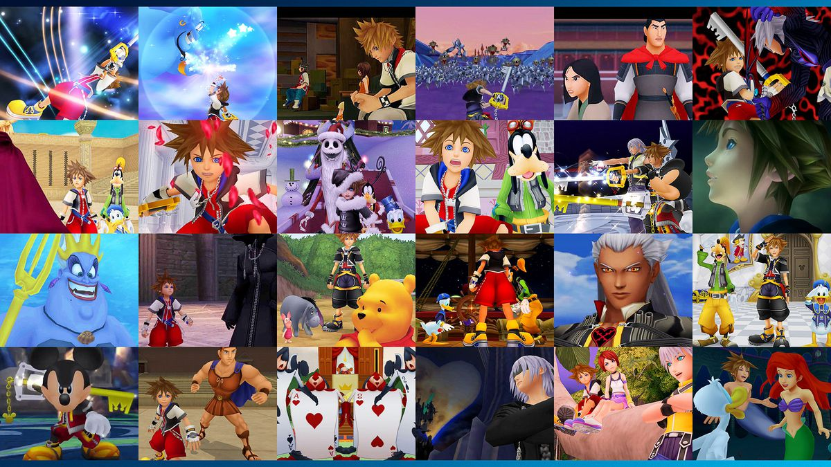 Kingdom Hearts And Kingdom Hearts 2 The Story And Timeline So