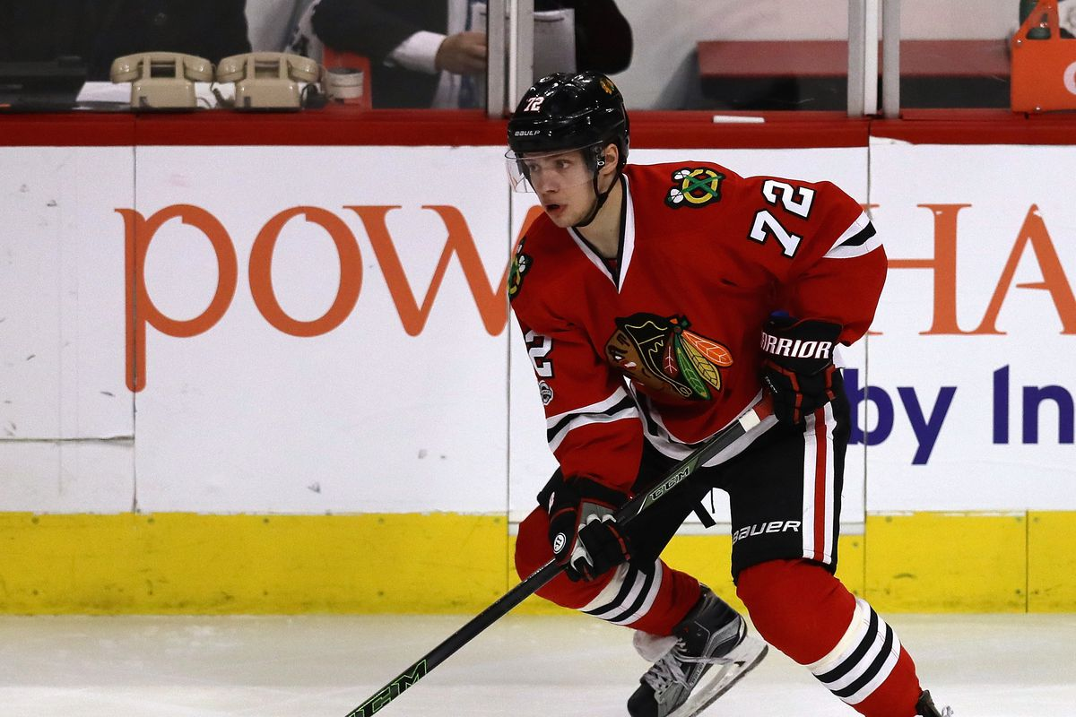 on sale 18108 005c6 Why did the Blackhawks choose Brandon Saad over Artemi ...