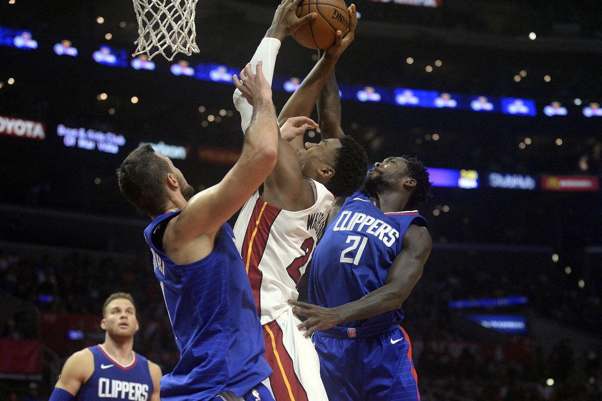 NBA: Miami Heat at Los Angeles Clippers