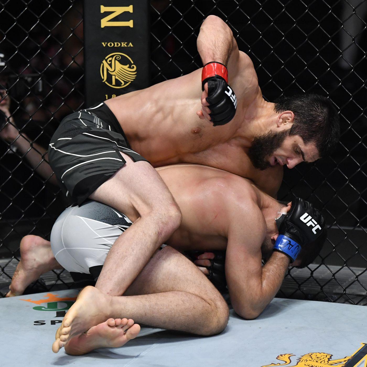 Islam Makhachev vs. Thiago Moises full fight video highlights - MMA Fighting