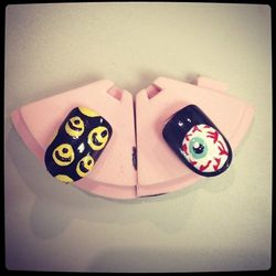 """Mishka Nails by <a href=""""http://instagram.com/jeanniev"""">Jeannie Vincent</a>"""