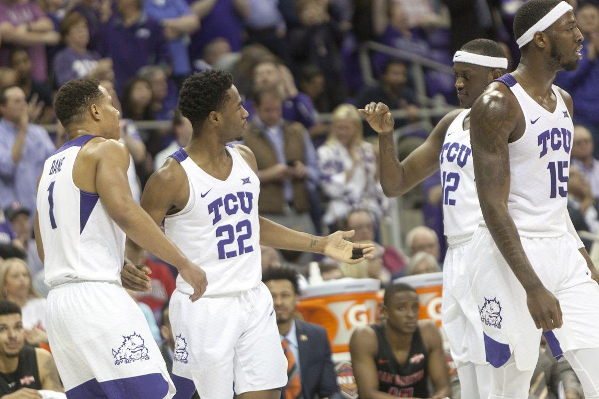 5f4fbe65fdc RJ Nembhard celebrates after a made basket late in the first half against  SHSU during the first round of the NIT Tournament. Melissa Triebwasser