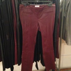 Leather leggings, $299