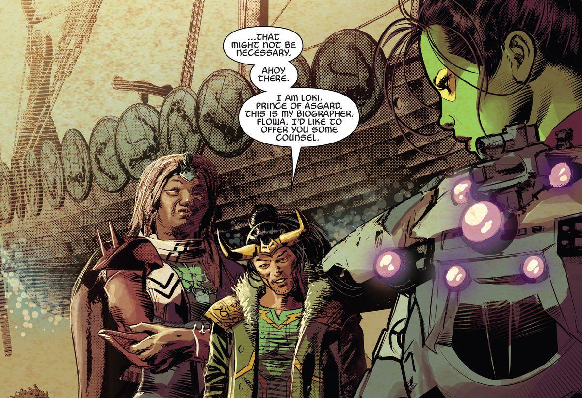 loki and gamora in infinity wars #2