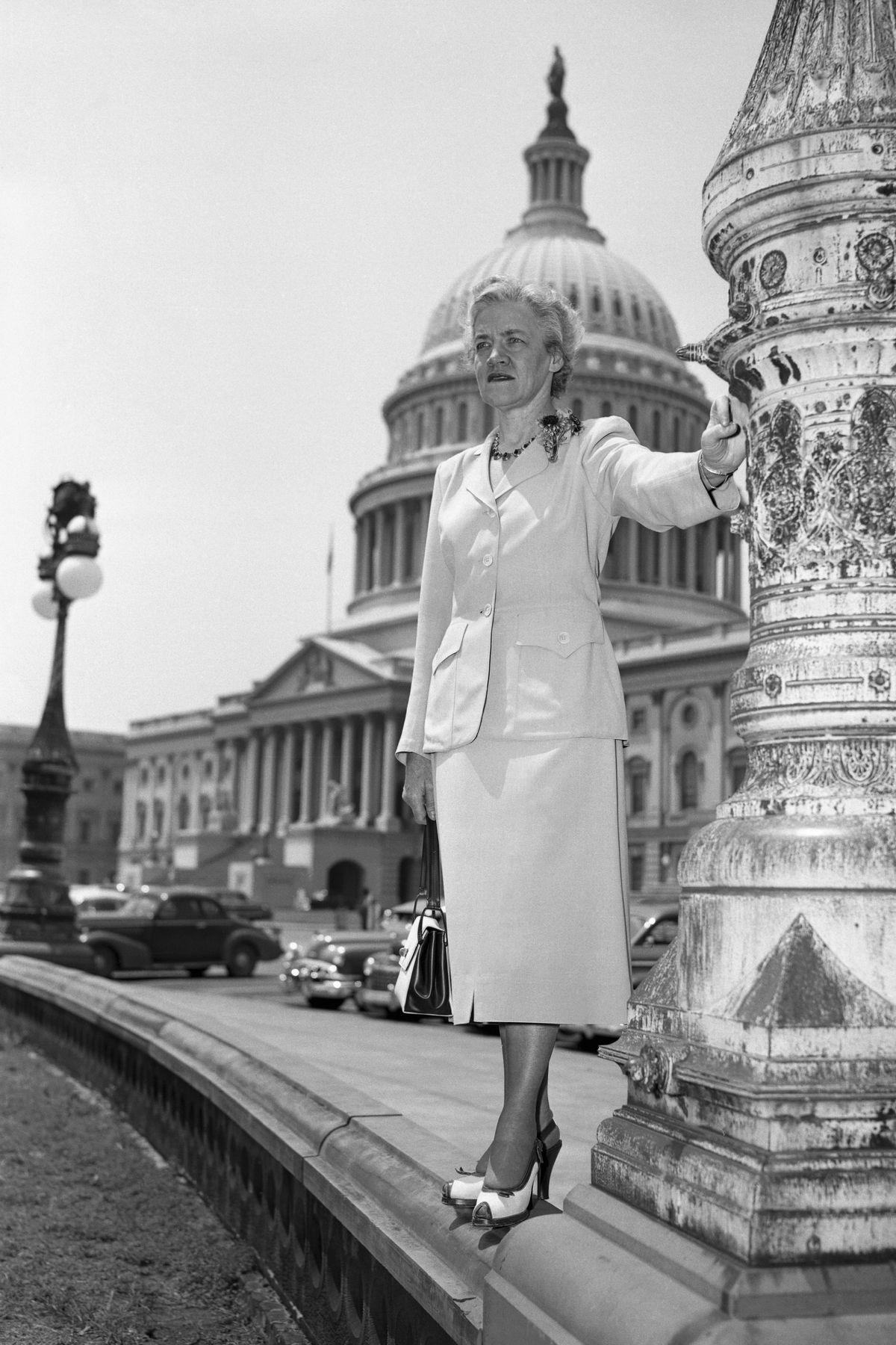 Sen. Margaret Chase Smith (R-ME)