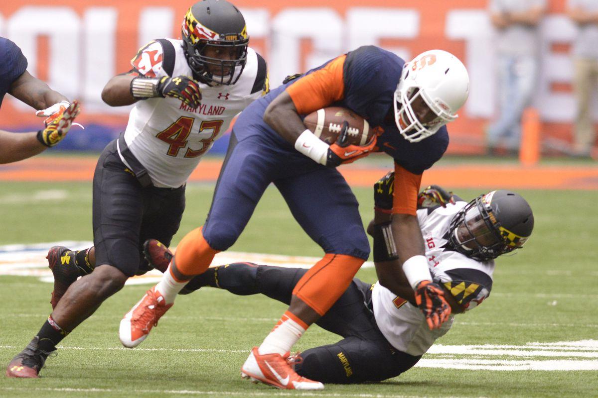 NCAA Football: Maryland at Syracuse