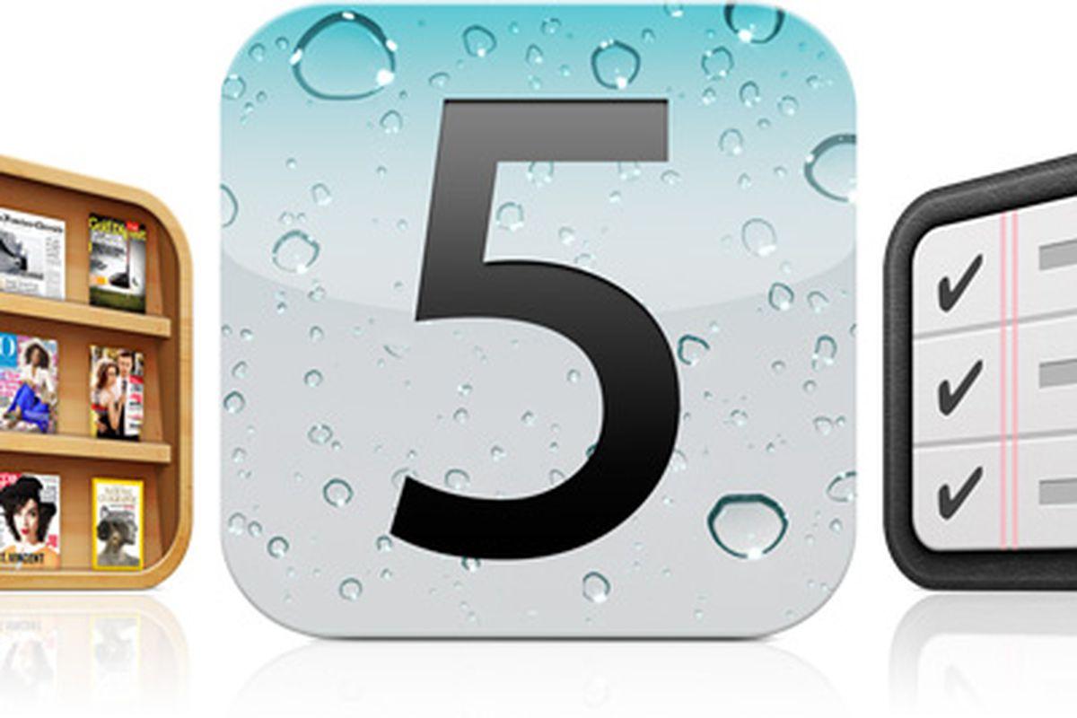 Apple iOS 5 banner