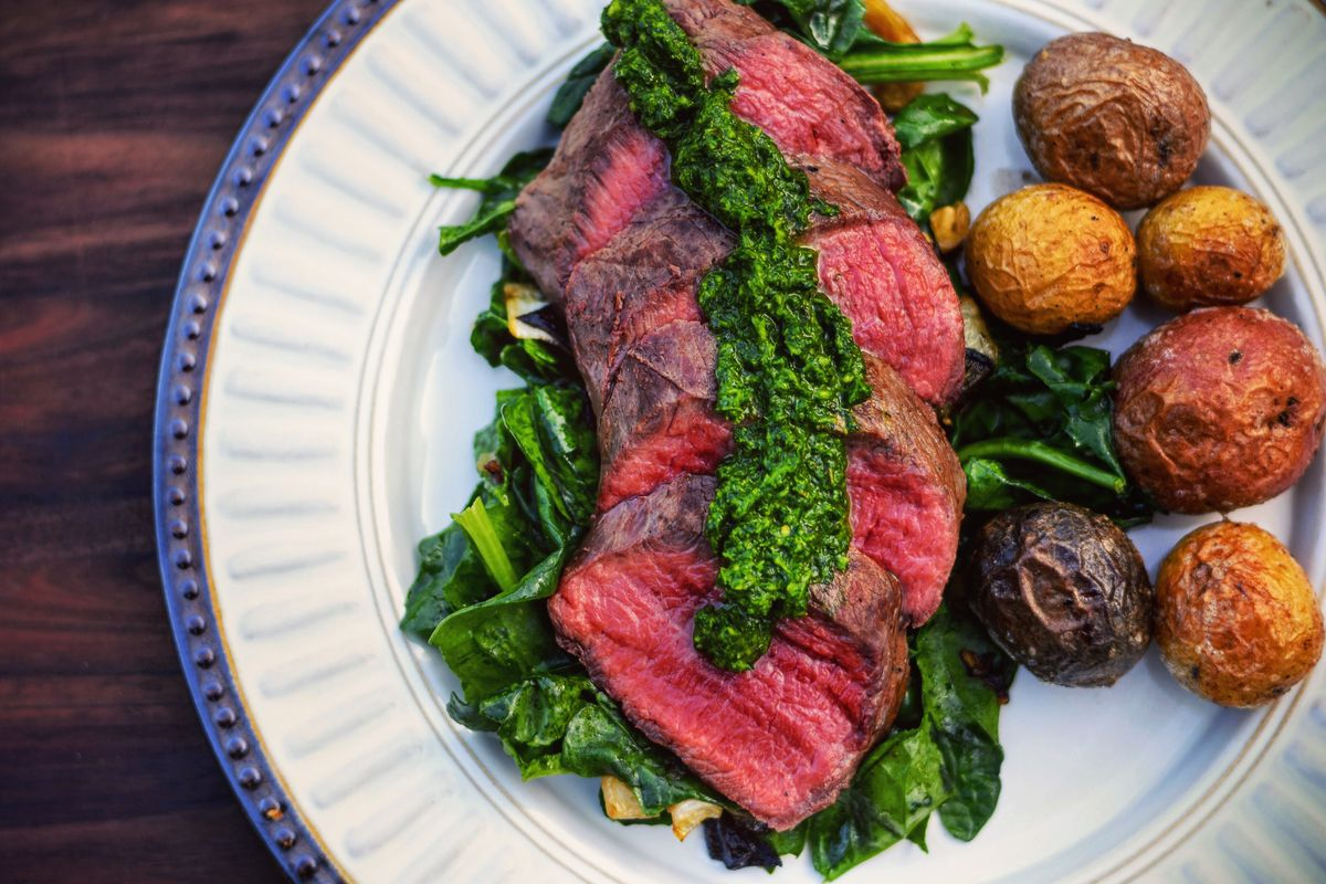 "Jack Hennessy gives us Venison Loin with Chimichurri this week in ""Braising the Wild."""