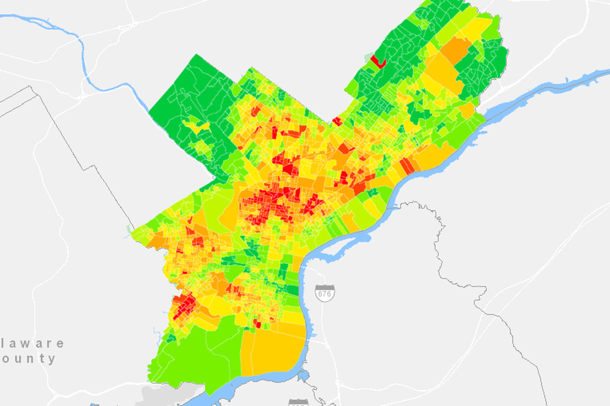 New map reveals the state of litter in Philly, block by block