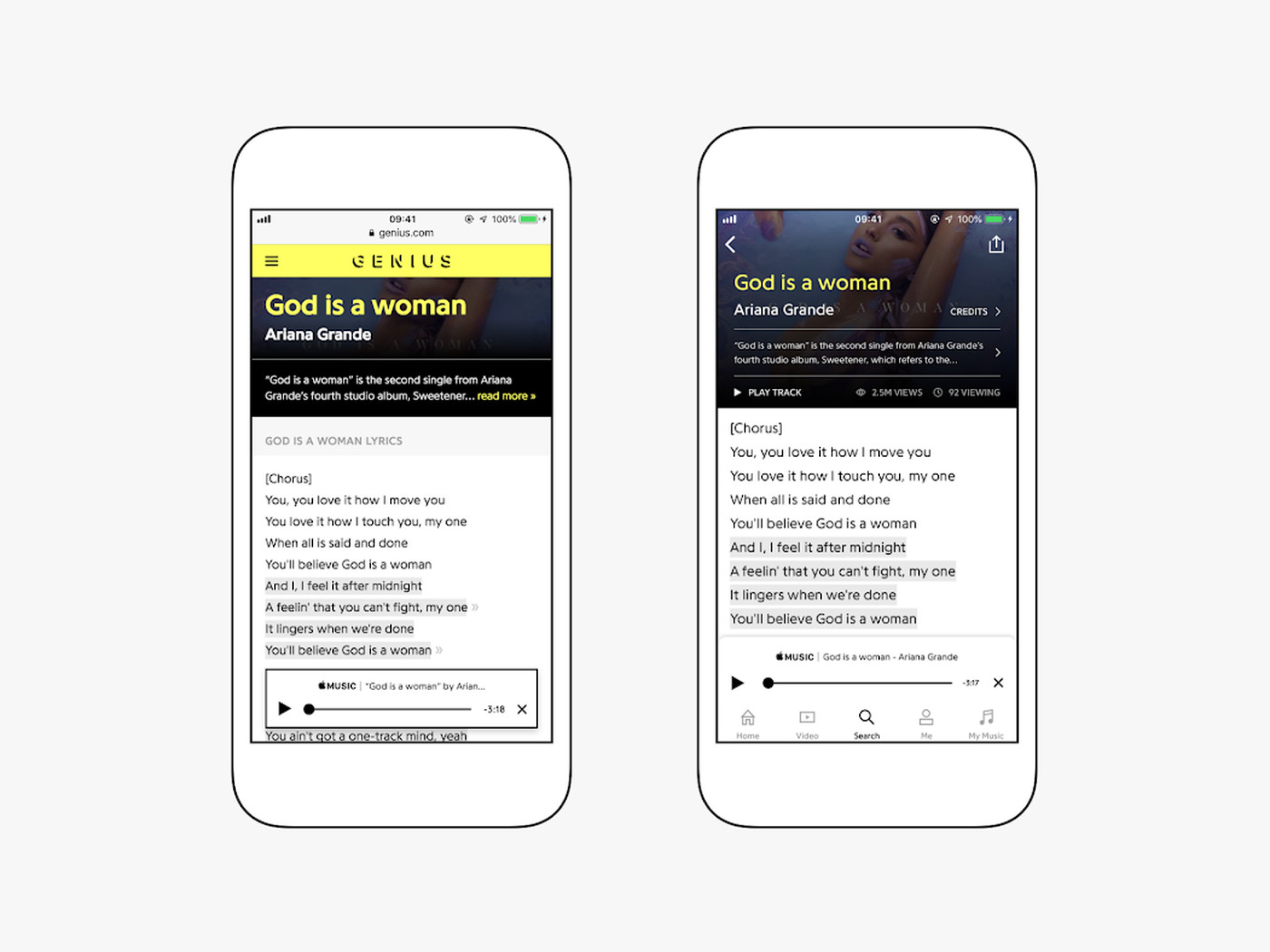 Genius lyrics are now available in Apple Music - The Verge