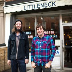 """<a href=""""http://ny.eater.com/archives/2012/12/littleneck_4.php"""">One Year In: Littleneck</a>"""