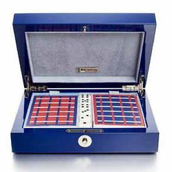 Ercolano Game Box with Cards & Dice, $450