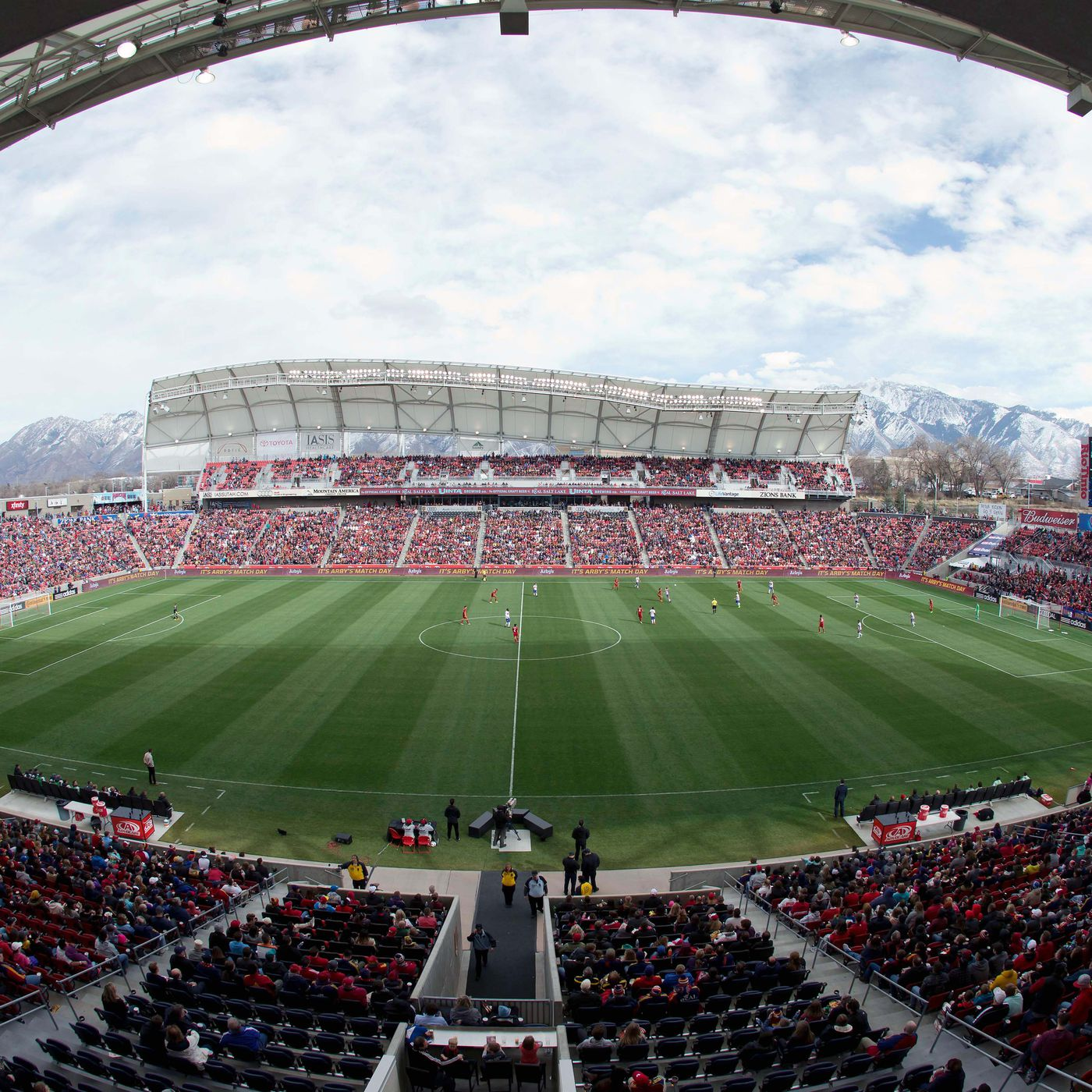 Utah Royals FC sell out Rio Tinto for home opener and it s a big deal RSL Soapbox