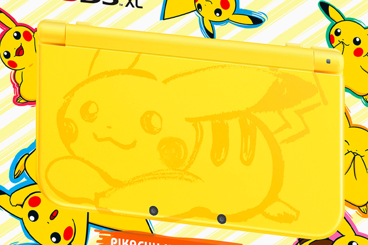 Pikachu finally gets a nintendo 3ds design worthy of its for 3ds xl pikachu achat