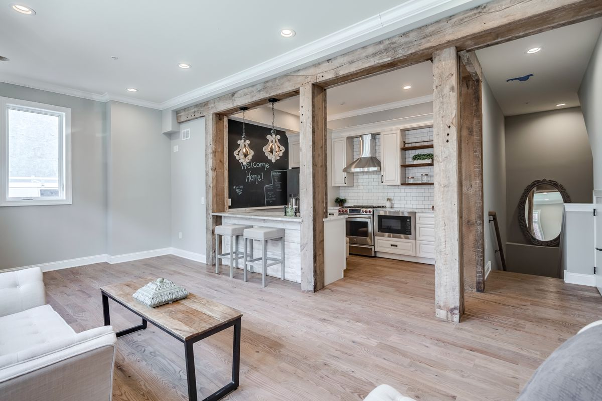 Rustic Chic Condo In Francisville Asks 395k Curbed Philly