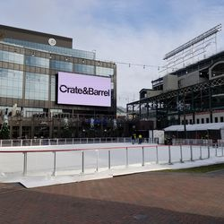 Ice rink at the Park at Wrigley
