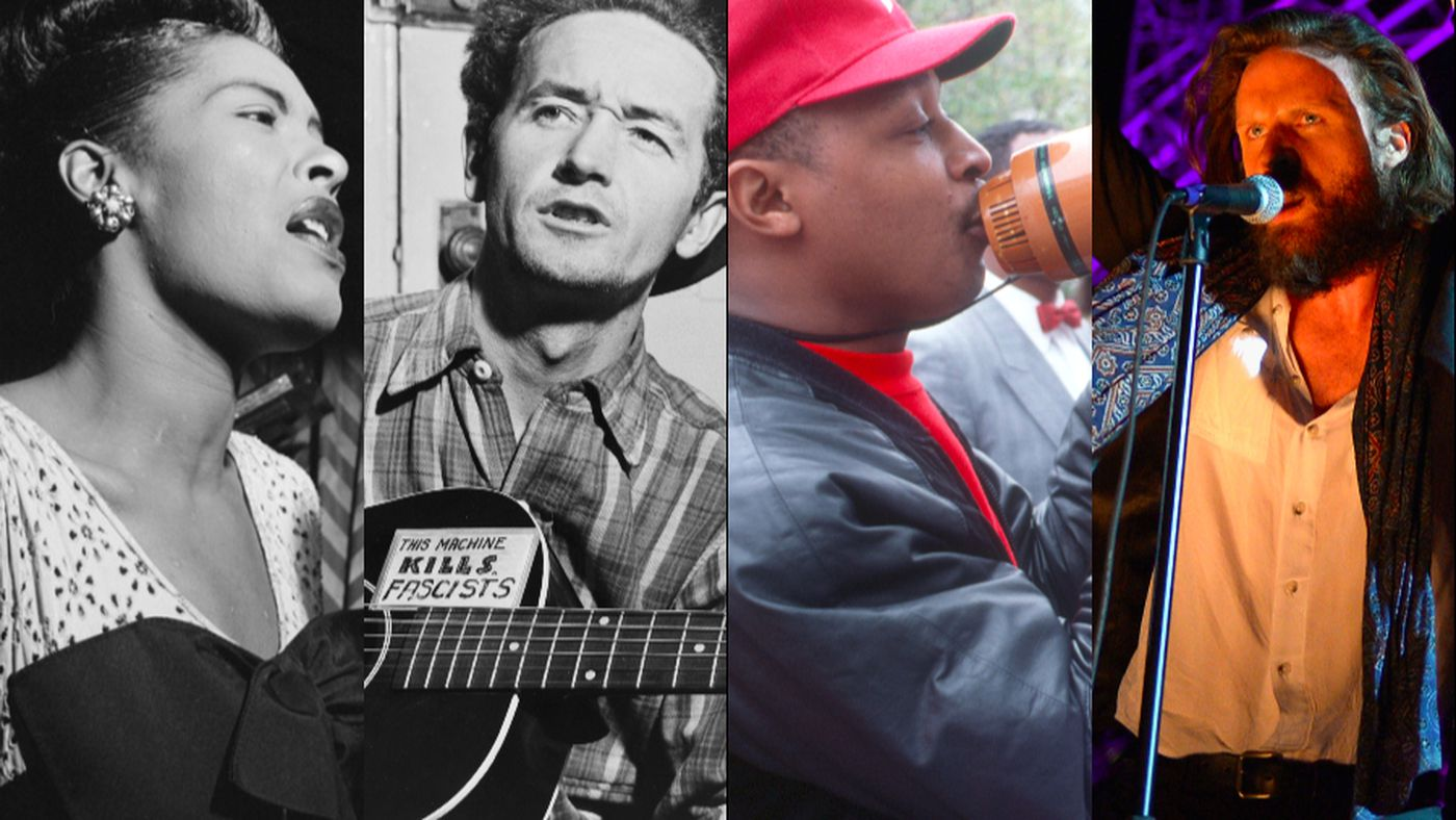 """The history of American protest music, from """"Yankee Doodle"""" to"""