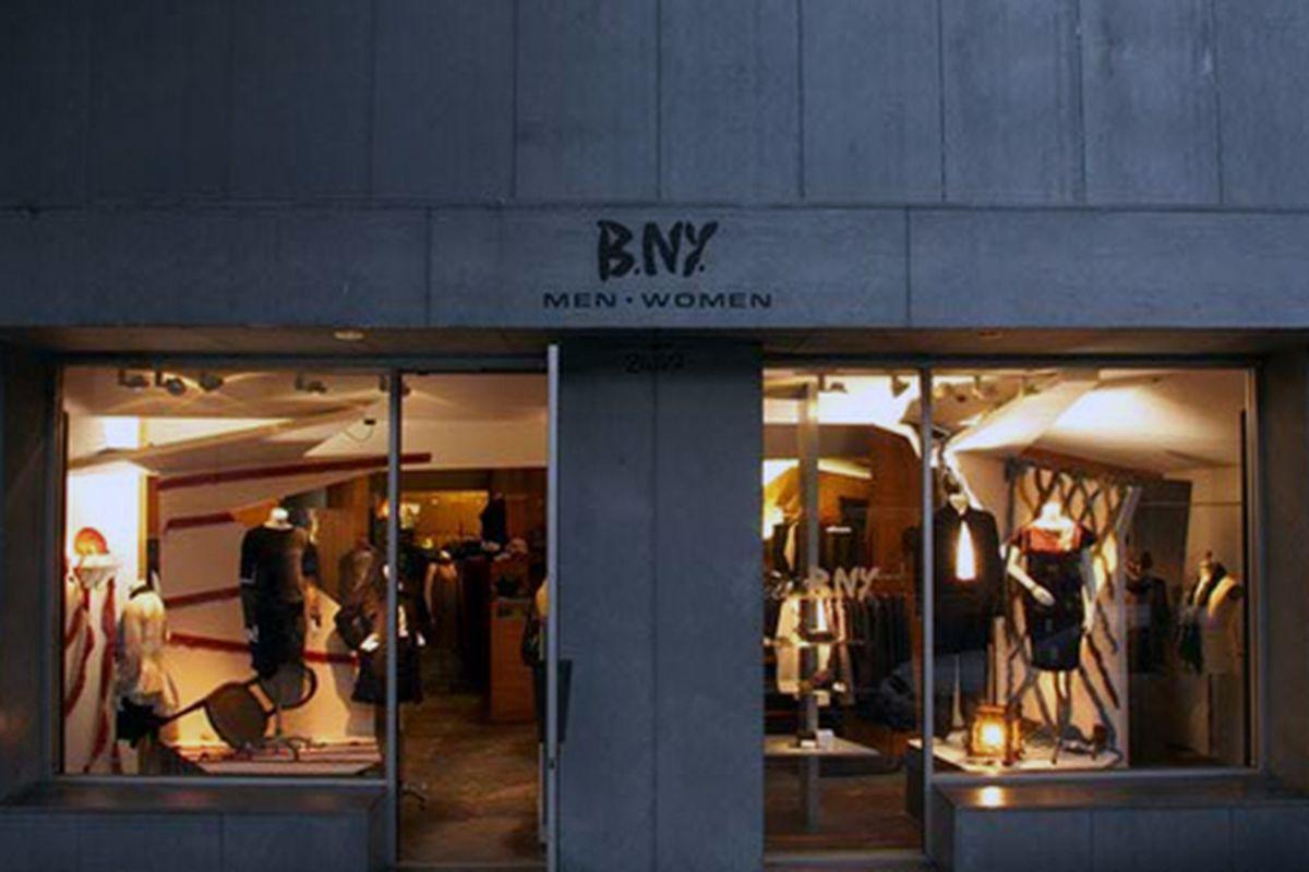 """Image via the B.NY <a href=""""http://www.bnyonmain.com/boutique/"""">website</a>"""