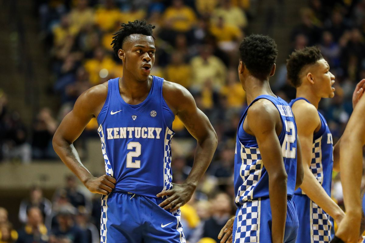 Kentucky Basketball Wildcats Have Two Usa Today: College Basketball Bracketology: Kentucky Wildcats Gets