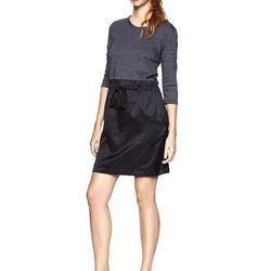 Mixed fabric dress, $79.95