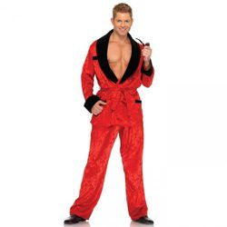 """The """"Ultimate Bachelor"""" costume is very practical: Show off your freshly waxed chest without getting cold!"""