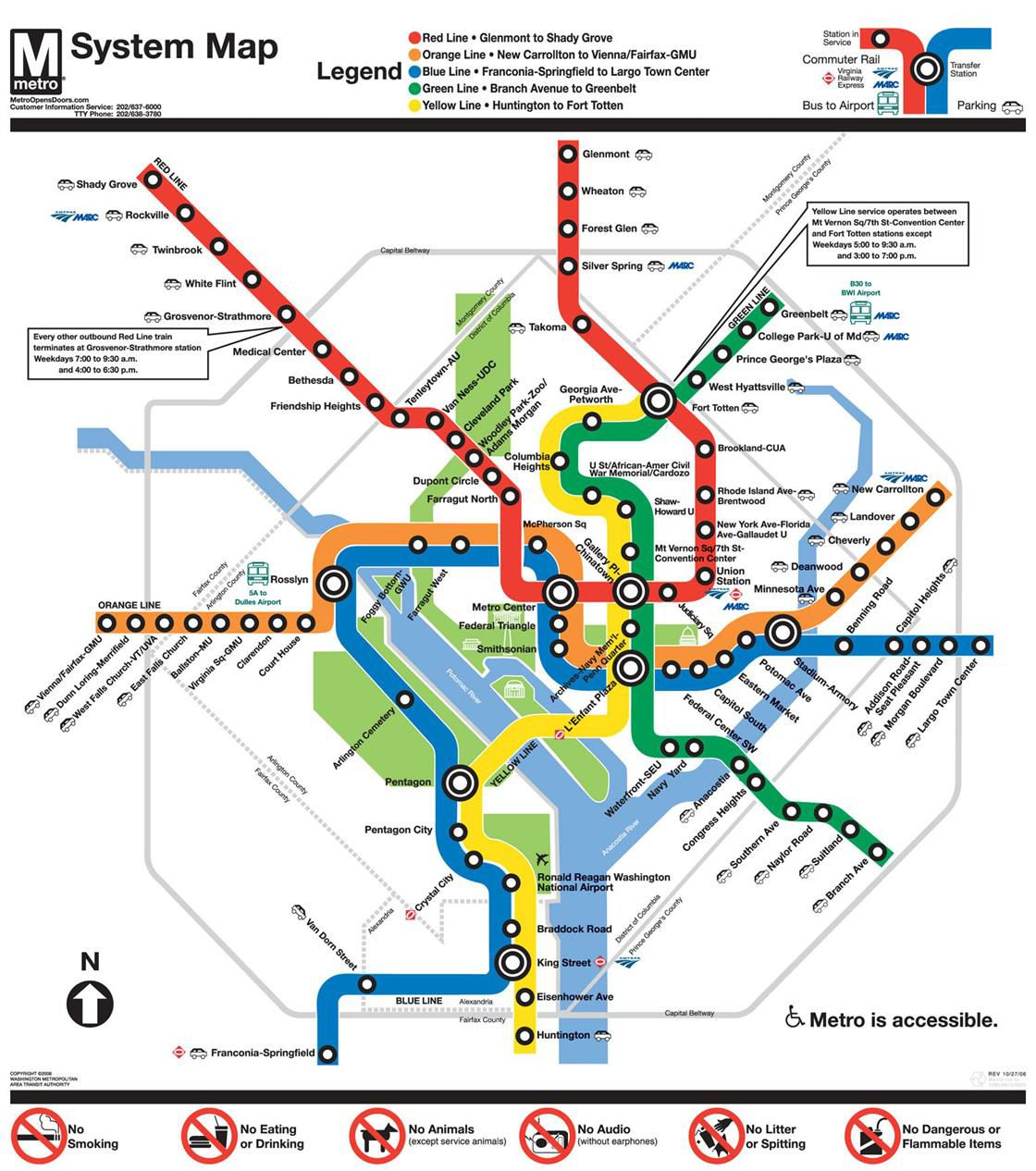 Dc Metro Red Line Map How to Make Metro Great Again   Vox Dc Metro Red Line Map