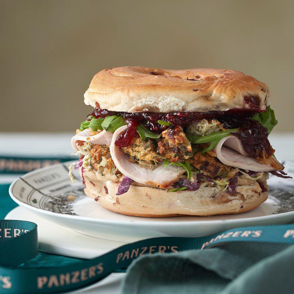 Panzer's Chrismukkah turkey bagel one of the best festive sandwiches in London in 2019