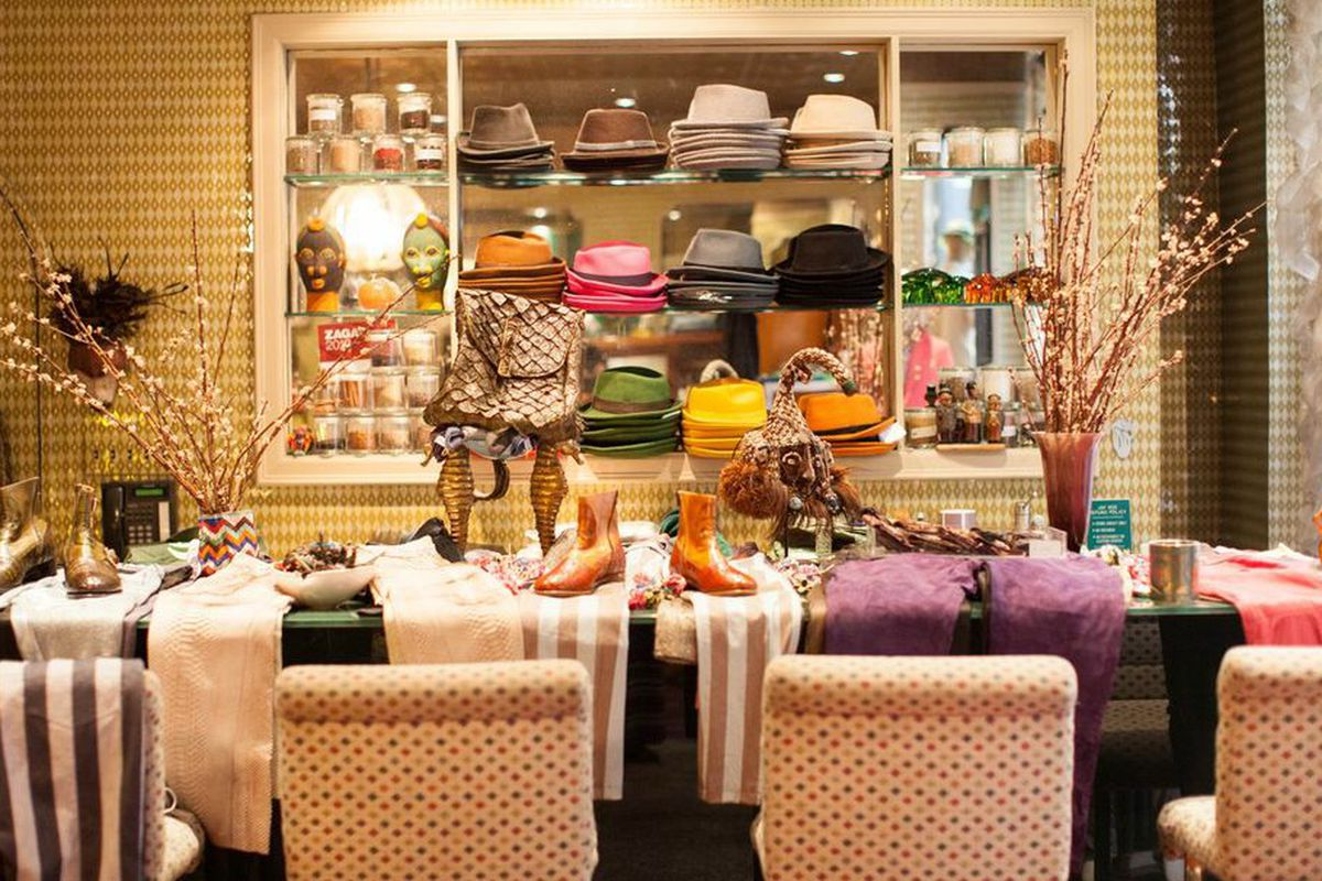 "Inside Jay Kos on Mott Street. Photo by <a href=""htpp://rebeccadalephotography.com"">Rebecca Dale</a>"