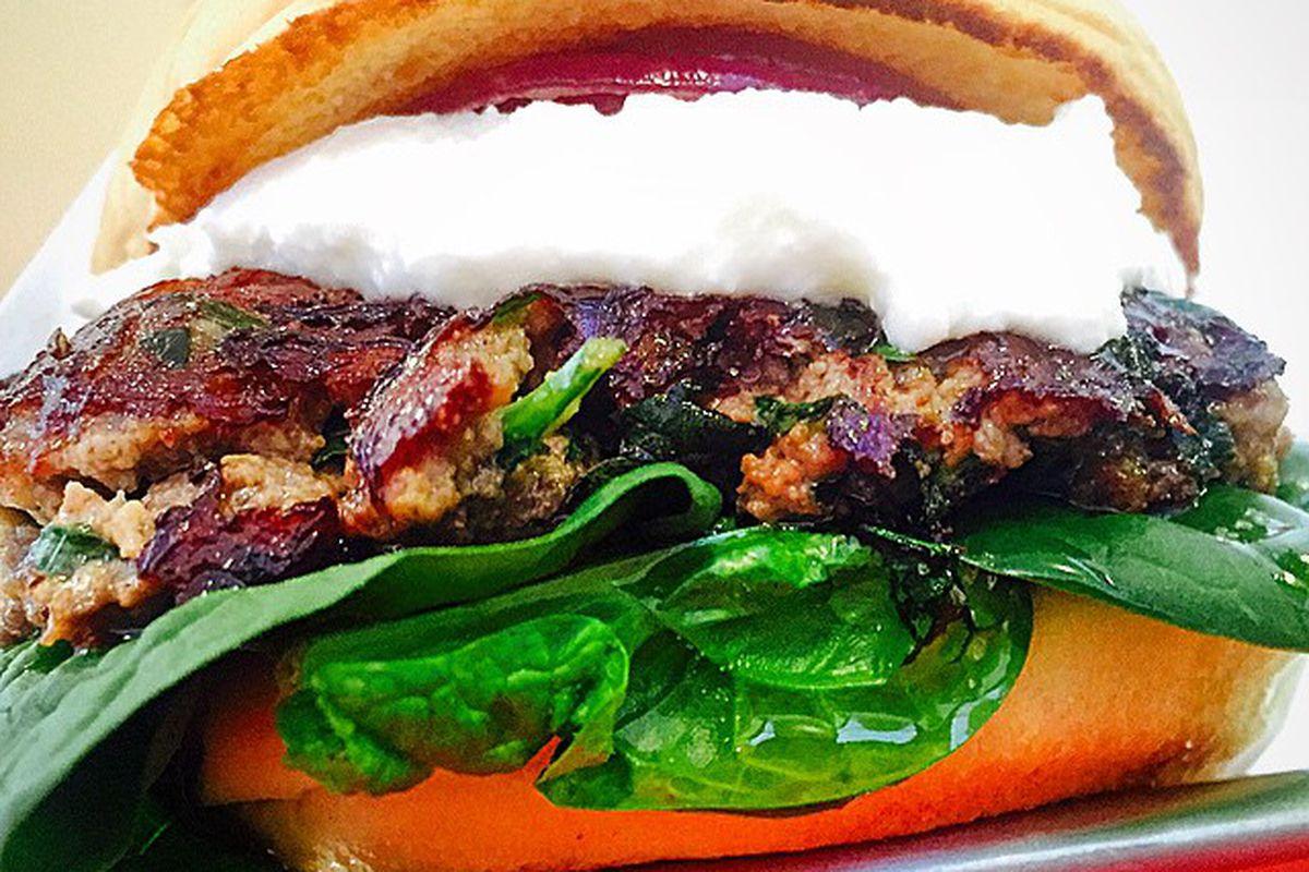 Fabrizio Covone's Vivace burger