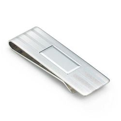 """<strong>Tiffany & Co.</strong> Engine-Turned Money Clip in Sterling Silver, <a href=""""http://www.tiffany.com/Shopping/Item.aspx?fromGrid=1&sku=10108004&mcat=148207&cid=288180&search_params=p+1-n+10000-c+288180-s+5-r+101424403-t+-ni+1-x+-lr+0-hr+-ri+-mi+-pp"""