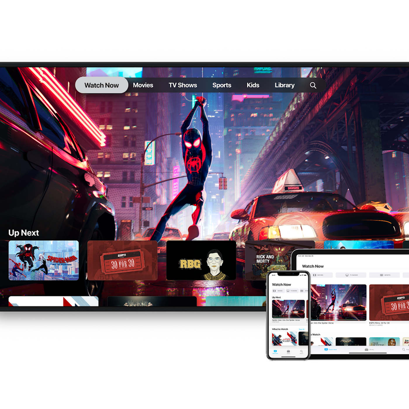 The new Apple TV app launches today on iOS, Apple TV, and Samsung